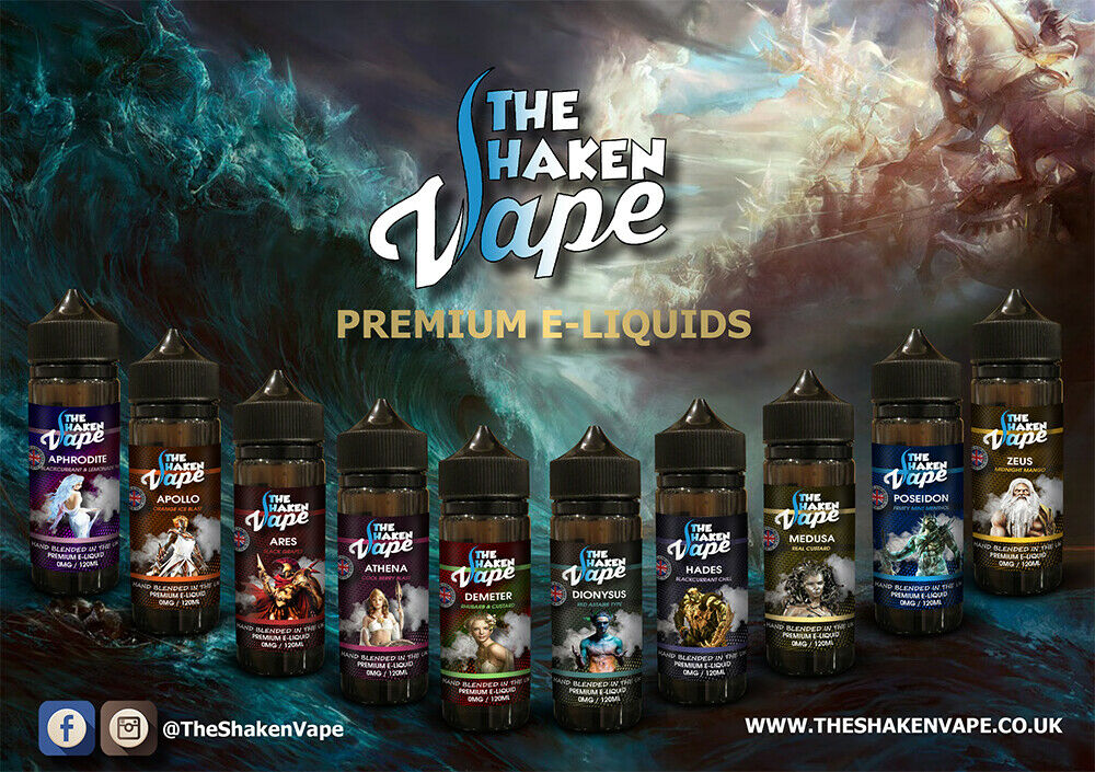 The Shaken Vape Eliquid