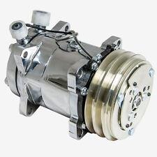 Chrome Sanden compressor 508 V-Belt Chrome Clutc belt a/c air conditioning 134a