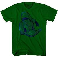 Donald Duck Face HD Glossy Ink Disneyland Disney Tee Adult Mens Graphic T-shirt