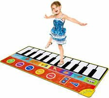 Cyiecw Piano Music Mat w/19 Keys, 8 Musical Instruments, Speaker & Recording