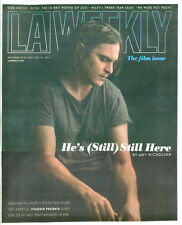 The Return of JOAQUIN PHOENIX Vintage L.A.Weekly Magazine Collectible FILM ISSUE