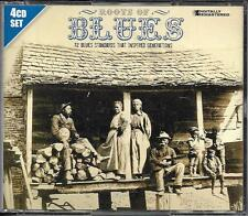 COFFRET 4 CD ROOTS OF BLUES 72T B.B KING/MUDDY WATERS/LEADBELLY/BESSIE SMITH....