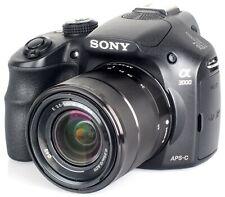 SONY Alpha A3000 Fotocamera Digitale Mirrorless Nera + Zoom Sony OSS 18-55mm