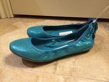 NWOB$168Cole Haan Maria Sharapova Bacara Blue Leather Flats 6.5B