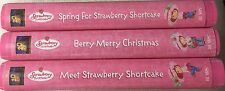 Strawberry Shortcake VHS Lot (Meet, Spring and Christmas Strawberry Shortcake)