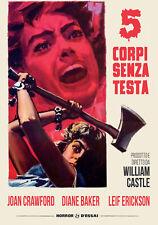 Cinque Corpi Senza Testa (Restaurato In Hd) DVD SINISTER FILM