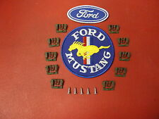 FORD MUSTANG BRONCO COMET WINDSHIELD REAR GLASS MOULDING CLIPS NEW ITEM # 7102