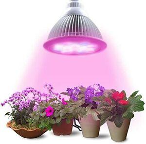 LED Grow lampada E27 7W= 70 Fioritura Piante Serra Vegetali Idroponica 5R 2B*