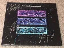 TWO DOOR CINEMA CLUB SIGNED AUTOGRAPH GAMESHOW VINYL ALBUM RECORD w/EXACT PROOF