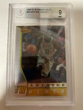 ANTOINE WALKER - 1996-97 Bowman's Best - Rookie RC - #R6 BGS 9