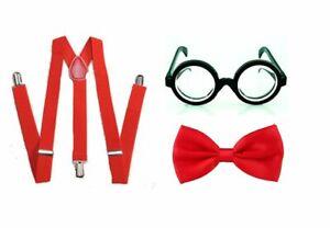 World Book Day Nerd Geek Kids Boys Girls School Show Fancy Dress Costume Outfit