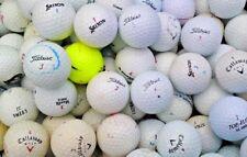 100 Golf Balls Titleist Srixon Callaway Nike TaylorMade Bridgestone Wilson