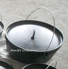 Cast iron Dutch Oven 20 qt Camping Festivals Cookware Wilderness Survival