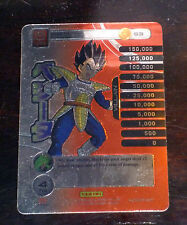 DRAGON BALL Z TCG DBZ PANINI CARD CARDDASS PRISM CARTE VEGETA S3 NM RARE