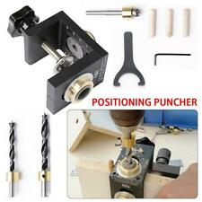 3 in 1 Woodworking Dowel Drilling Locator Tool Hole Jig Kit Drill Joinery Guide