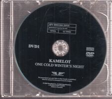 kamelot one cold winter's night 2x dvd promo