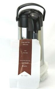 AIRPOT VACUUM BOTTLE-1.8 LT(60 Oz)TG-719ET Coffee Liquid GEVALIA KAFFE