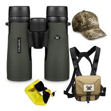 Vortex 10x42 Diamondback HD Roof Prism Binoculars w/Floating Strap & Vortex Hat