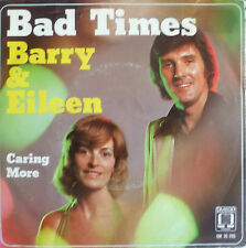 "7"" 1975 NL-PRESS RARE VG+++! BARRY & EILEEN : Bad Times"