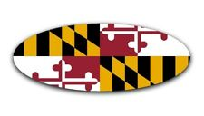 Maryland Flag Overlay Decal for 2015-2018 Ford F-150 Emblem (Front and Rear)