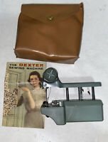 Vintage Sewing Machine The Dexter Hand Held with Instructions