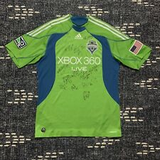 Seattle Sounders FC 2009 Signed Home Jersey Adidas Size Large