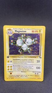 Carte Pokemon Magneton 11/62 Edition 1 Holo Fossile Francais PCA PSA BON ÉTAT