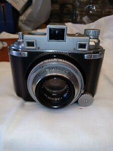 Vintage Kodak Medalist Supermatic No.2 Ektar 100 MM Camera W/ Leather Case