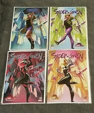 SPIDER-GWEN #24 GWENOM FULL SET J Scott Campbell NYCC SIGNED COA