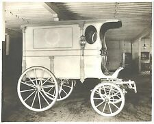Photograph ~ Finley Mortuary Horse Drawn Hearse c1912 Portland