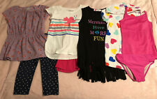 Spring Summer Clothing Lot Sz 4/5 Circo Jumping Beans H&M New and Used