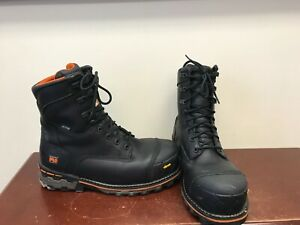 "Men's Timberland Boondock 8"" Work Boots Size 10.5"