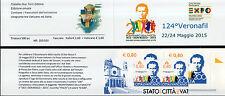2015 1° Libretto Ricordo Veronafil 200° Nascita di Don Bosco 500 pz