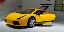 1:24 Scale Lamborghini Gallardo Yellow/Orange Superleggera Diecast Model Car