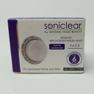 Michael Todd Soniclear Antimicrobial Face Sensitive Brush Replacement Head