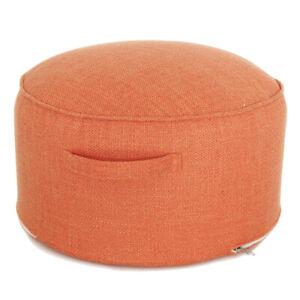 Hot Floor Sitting Cushion Footstool Japanese Oversized Round Ottomans Poufs New