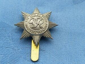 The Middlesex Yeomanry George VI cap badge.