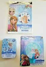 Disney Frozen Bundle* New Frozen Nightlight* Frozen Puzzle * Frozen Tattoos*