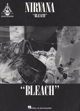 Nirvana Bleach Guitar Tab US Song Book