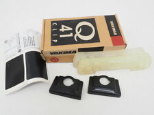 New! Yakima Q Clip #41 Black Pair Part #0641 W/ Rubber Base For Q Tower System