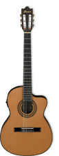 Ibanez GA5TCE Thinline Classical Guitar - Amber High Gloss