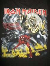 "Retro 2011 IRON MAIDEN ""THE NUMBER OF THE BEAST"" Concert Tour (MED) T-Shirt"