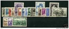FRANCE STAMP ANNEE COMPLETE 1940 OBLITEREE TB , 19 TIMBRES VALEUR: 113€