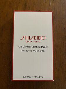 Shiseido Ginza Tokyo Oil-Control Blotting Paper 100 Sheets