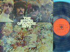 Byrds ORIG OZ LP Greatest hits EX '67 DG Orange CBS Folk Rock Psyche