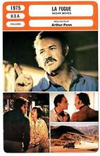FICHE CINEMA : LA FUGUE - Hackman,Warren,Woods,Penn 1975 Night Moves