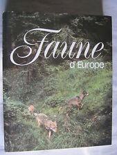Faune d'Europe de Jiri Felix