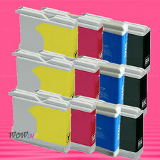 12P LC51 BK C M Y SET INK CARTRIDGE FOR BROTHER DCP130C