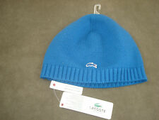 BLUE LACOSTE BEANIE/SKULL HAT ONE SIZE