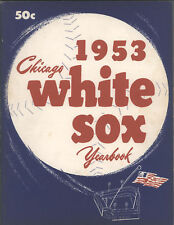 1953 Chicago WHITE SOX  Yearbook